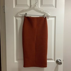 Missguided Rust Colored Dress